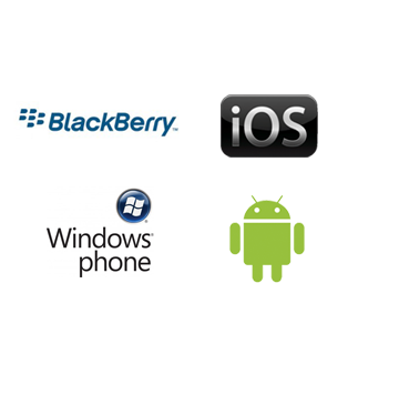 Black Berry, iOS, Windows Phone, iPhone, iPad, Android